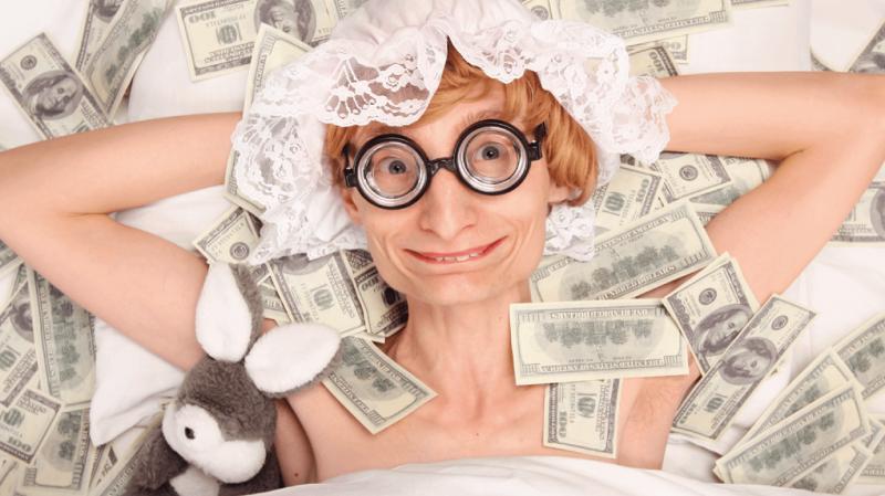 «Пенсионерка Редькина хорошо зарабатывает»